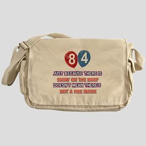 84 year old designs Messenger Bag