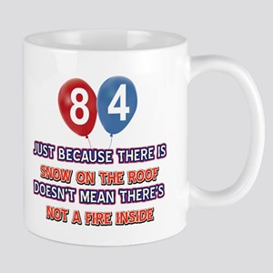 84 year old designs Mug