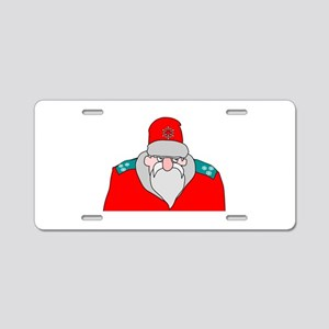 Colonel Frost Aluminum License Plate