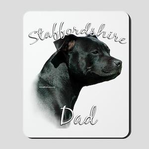 Staffy Dad2 Mousepad