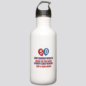 50 year old designs Stainless Water Bottle 1.0L