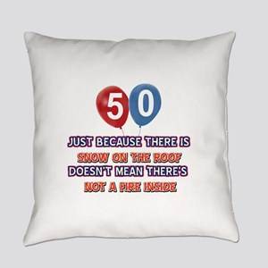 50 year old designs Everyday Pillow
