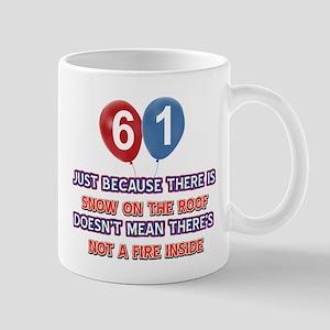 61 year old designs Mug