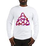 Hearts Triquetra Long Sleeve T-Shirt