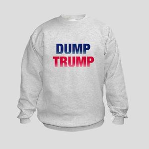 Dump Trump Kids Sweatshirt