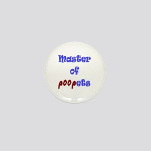 Master of Poopets Mini Button
