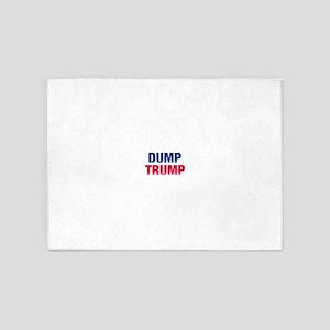 Dump Trump 5'x7'Area Rug