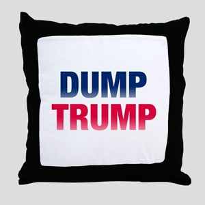 Dump Trump Throw Pillow