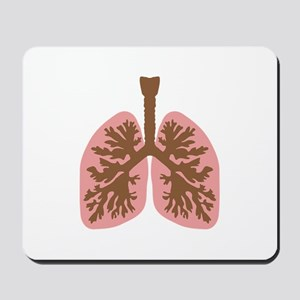 Lungs and bronchus Mousepad