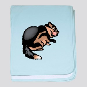 Wolverine baby blanket