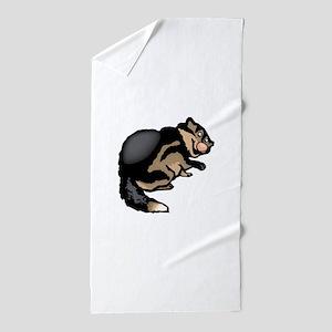 Wolverine Beach Towel