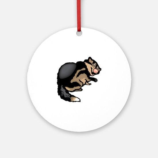 Wolverine Round Ornament