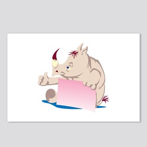Rhino Frame Postcards (Package of 8)