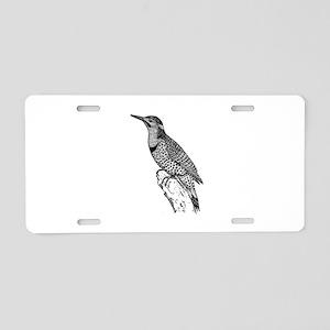 Flicker Aluminum License Plate