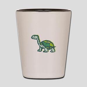 Turtle staring Shot Glass