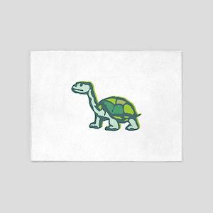 Turtle staring 5'x7'Area Rug