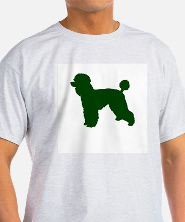 Poodle Green 1 T-Shirt