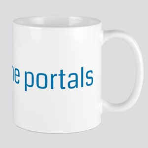 hack all the portals - Resistance Mugs