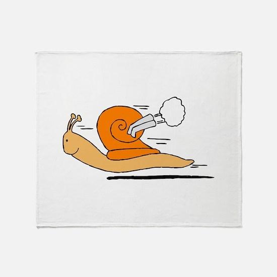 Lumaca turbo Snail Throw Blanket