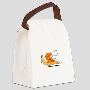 Lumaca turbo Snail Canvas Lunch Bag
