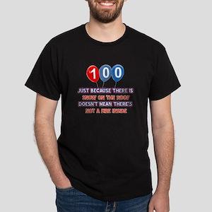 100 year old designs Dark T-Shirt
