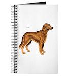 Irish Setter Dog Journal