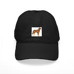 Irish Setter Dog Black Cap