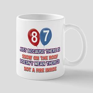87 year old designs Mug