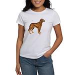 Irish Setter Dog (Front) Women's T-Shirt