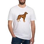 Irish Setter Dog Fitted T-Shirt