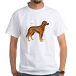 Irish Setter Dog (Front) White T-Shirt