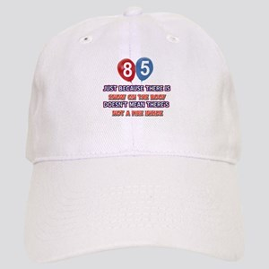85 year old designs Cap