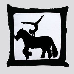 Vaulting Freedom Throw Pillow