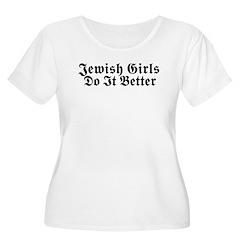 Jewish Girls Do it Better T-Shirt