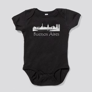 Buenos Aires Argentina Cityscape Baby Bodysuit