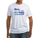 Pick up Line Fitted T-Shirt