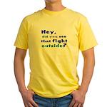 Pick up Line Yellow T-Shirt