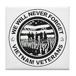 Vietnam Veterans Tile Coaster