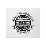 Vietnam Veterans Throw Blanket