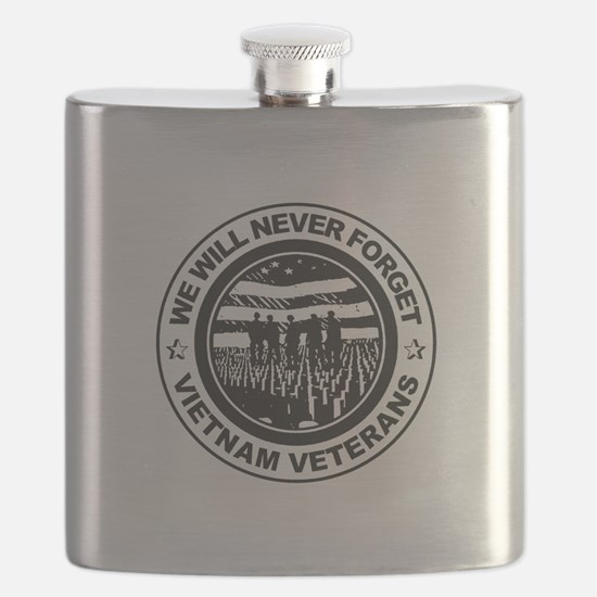 Vietnam Veterans Flask