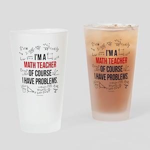 Math Teacher Problems Drinking Glass