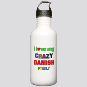 I love my crazy Danish Stainless Water Bottle 1.0L