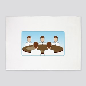 Business Meeting 5'x7'Area Rug