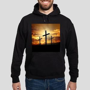 The Cross Hoodie (dark)