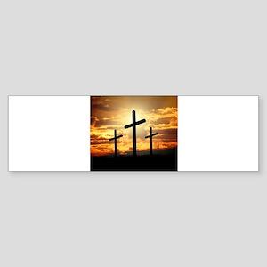 The Cross Bumper Sticker
