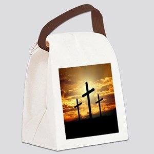 The Cross Canvas Lunch Bag