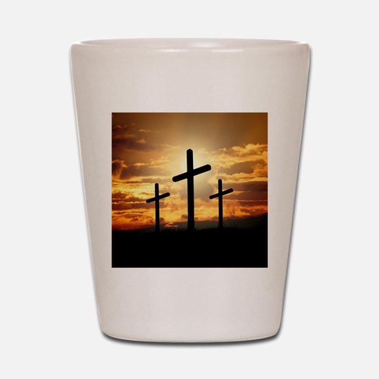 The Cross Shot Glass