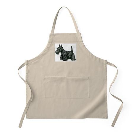 Scottish Terrier Dog BBQ Apron