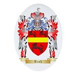 Rush Oval Ornament