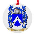 Ruprechter Round Ornament
